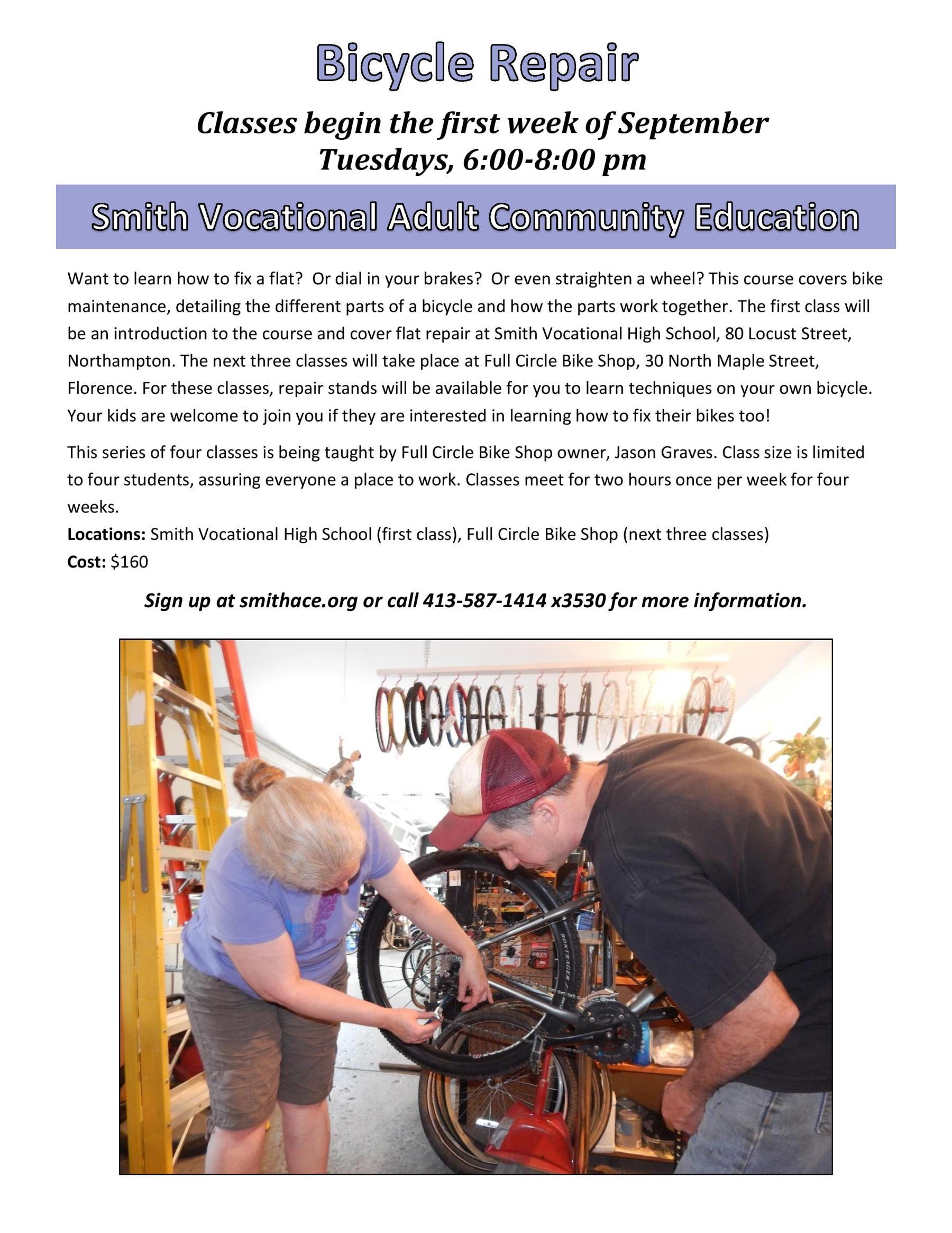 Bike Repair Poster