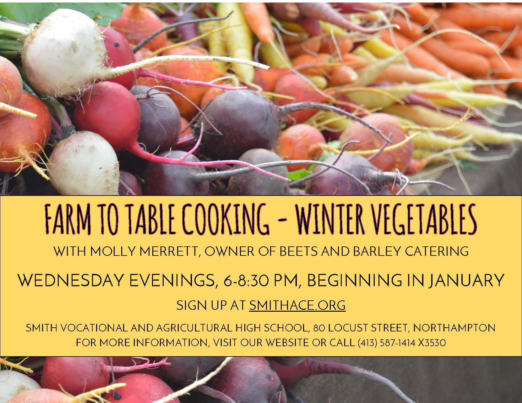 farm-to-table-cooking-flyer